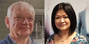 Alan Smithson and Eva Foran