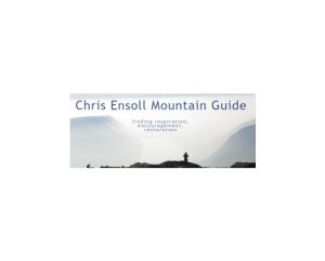 Chris Ensoll