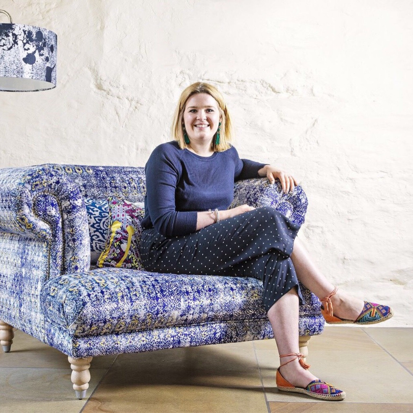Becka Spence, Pattern and Print Upholstery