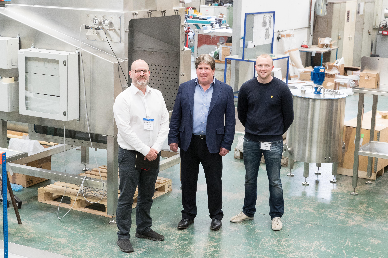 Robert Webb, Iain Crosley and James Swindlehurst
