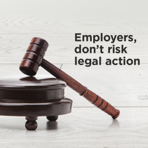 Employers legal action